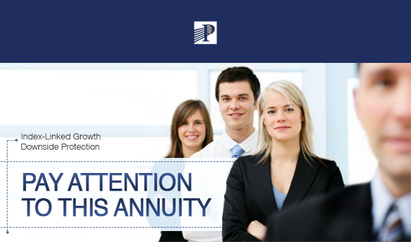 Pat attention to this Annuity. Index-Linked Growth Downside Protection