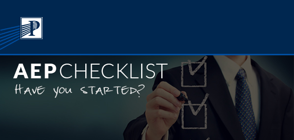 Premier Senior Marketing, Inc. | AEP Checklist - Have you started?