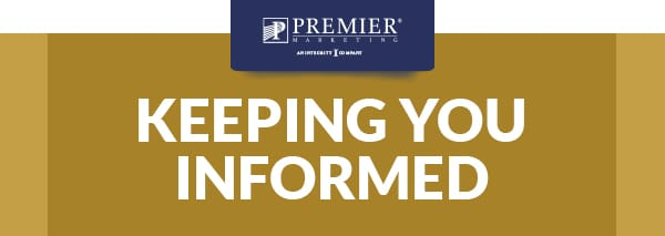 Premier Marketing® An Integrity Company (logo) | Keeping you informed