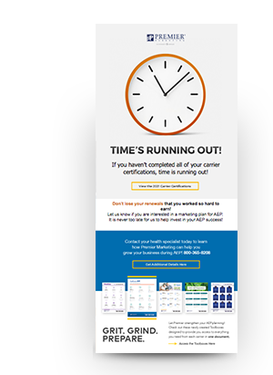 Time's Running Out eBlast